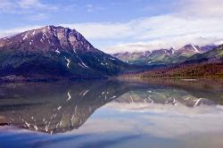 alaska, college fjord, mountains, ocean, reflection, water