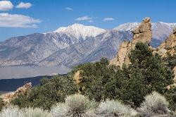 Owens Valley, mountains, rocks, Eastern Sierra